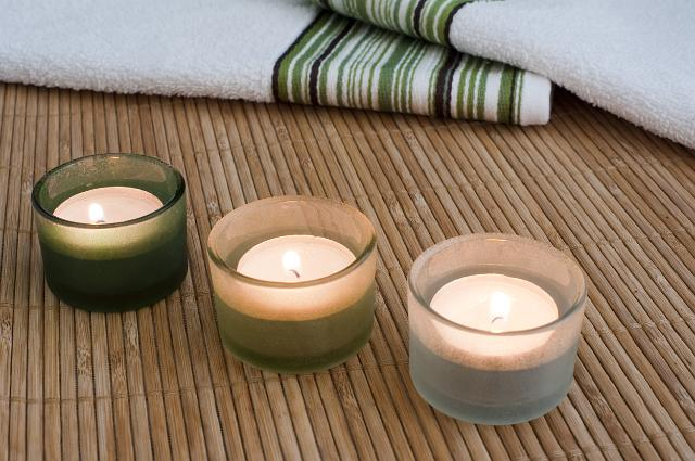 aroma therapy candles