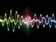 Sound waves color vibrations